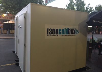 2 x 1300 Coldbox cool rooms supplied and installed by Commercial Refrigeration Adelaide