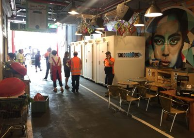 Coolrooms on hire in Gouger street Adelaide