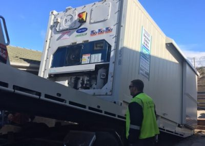 The South Australian Aquatic Science Centre (SARDI) on West Beach hired one of our modern containers with