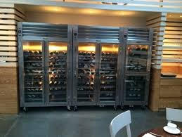 Commercial fridges with multi display doors for bottle shops, retaurants and hotels