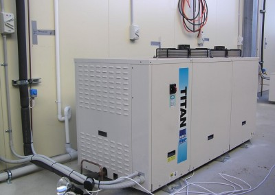 Installing a large refrigeration plant for running multiple cool rooms in Adelaide, South Australia