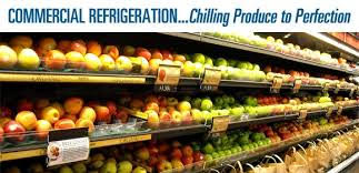 Refrigerated display cabinets for fresh produce vegetables and fruit