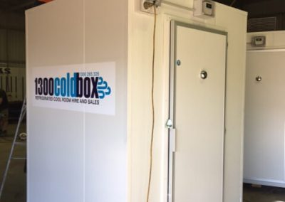Hire of small cool rooms to adelaide central markets for Christmas stock