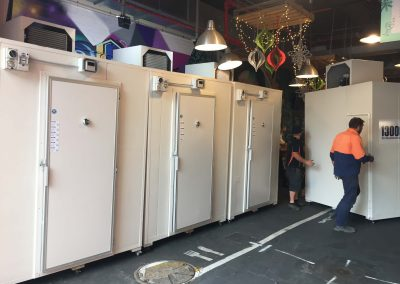 Refrigerated Coolrooms hired fro the festive season