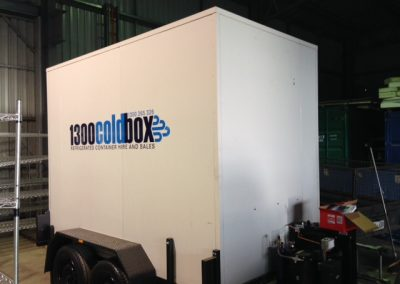 Tandem mobile cool rooms and freezers