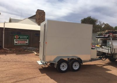 Delivering mobile cool room to Alice Springs